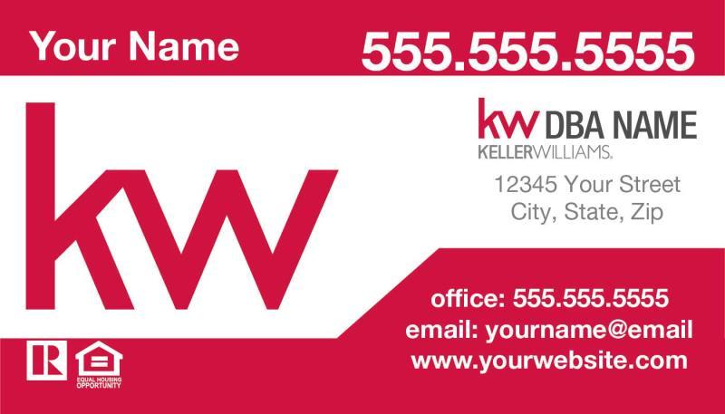 Keller williams business cards keller williams realty inc keller williams business card template kw 09 colourmoves