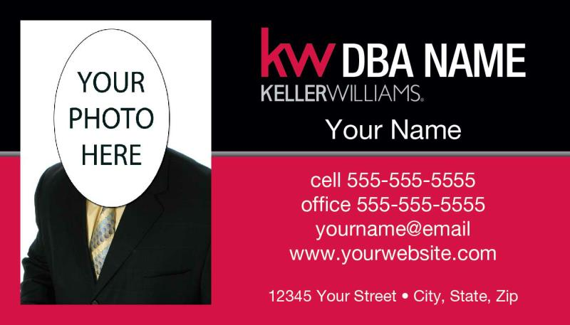 Keller williams business cards keller williams realty inc keller williams business card template kw 11 pronofoot35fo Gallery