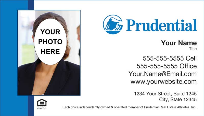 Prudential real estate business cards prudential insurance prudential business card template prudential 03 reheart Choice Image