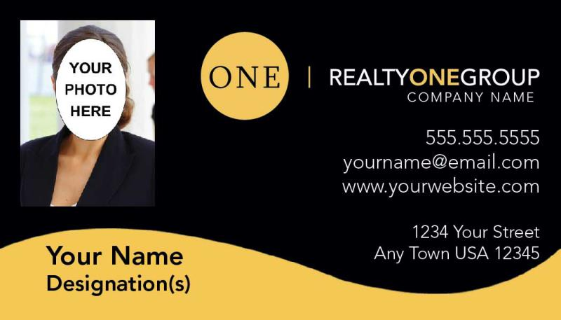 Realty One Group Business Card Template Rog 10