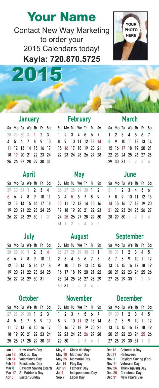 X Files Calendar : Calendars full magnet back custom