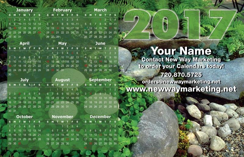 2019 Calendar Postcards Direct Mail Postcard Design Services