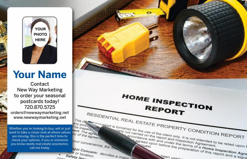 Home Inspection Postcards | Real Estate Postcards | New Way