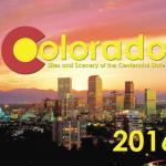 Coloado #1 - 2018 Calendar - Sites and Scenery of the Centennial State