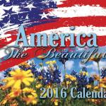 America The Beautiful - 2018 Calendar