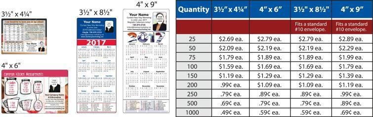 4 x 6 helper magnets as low as 59 ea