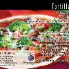 "#80 - Tortilla Pizza Back of postcard is standard Recipe Back  Offered as Jumbo 8½"" x 5½"" ONLY"