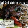 "#165 - Lamb Shank - FRONT  Offered as Jumbo 8½"" x 5½"" ONLY"
