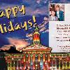 "#37 - Denver City Building Winter, Holiday & Season Greetings  Text on front of card can be customize at no charge.  This postcard design is NOT AVAILABLE in a 4""x6"" Layout with Holiday Events."