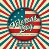 "#575 - Veterans Day Postcard   Offered as Jumbo 8½"" x 5½"" ONLY"
